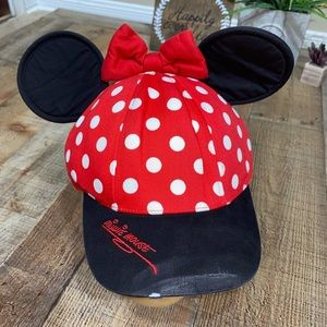 🎃 Minnie Mouse Ball Cap With Ears